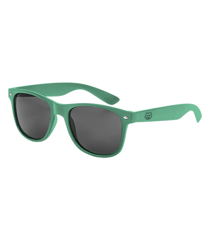 'Bear' Green Sunglasses