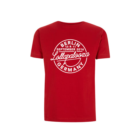 Type Men's Red Tee -