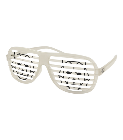 'Bear' Shutter Shades White