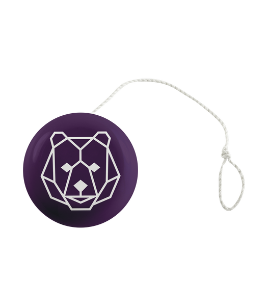 'Bear' Purple Yoyo