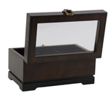 Top Quality Wood Watch Organizer And Ring Cufflinks Storage Box