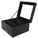 Arolly Watch Case Storage Box And Valet Organizer in Black