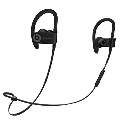 Beats By Dr. Dre Powerbeats3 Wireless Bluetooth In-Ear Stereo Headphones w/Inline Remote/Microphone & Case (Black)
