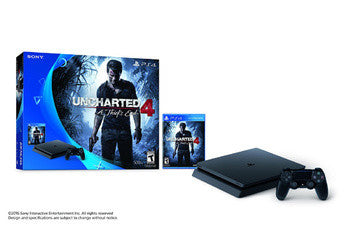 PS4 500GB HARDWARE BUNDLE UNCHARTED 4