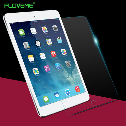 FLOVEME for iPad 2 3 4 Tempered glass screen protector for ipad 2 ipad 3 ipad 4 9.7 inch with retail package box protective film