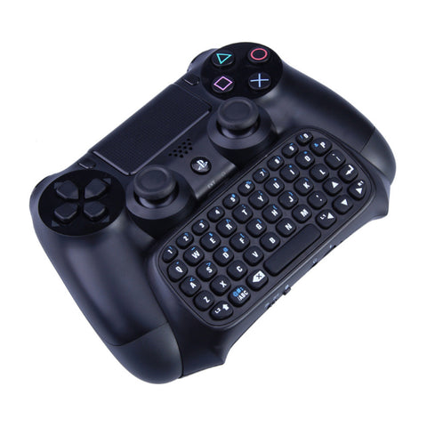 Multifunction 2 in 1 Bluetooth Mini Wireless Chatpad Message Keyboard Game Consoles for Sony Playstation 4 PS4 Controller