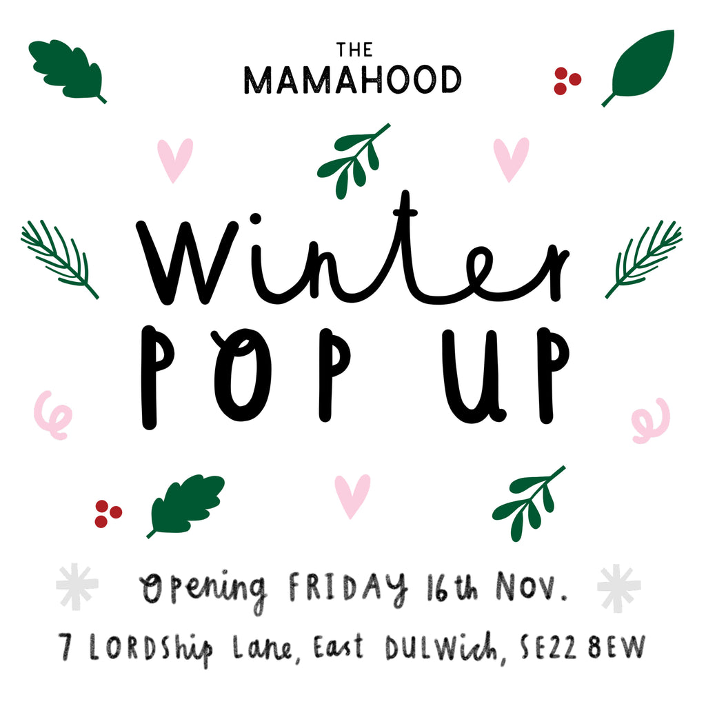TOTO & FIFI at THE MAMAHOOD Winter Pop Up Shop