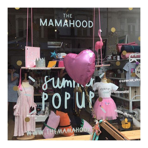 TOTO & FIFI unisex kids clothes, The Mamahoo pop up shop