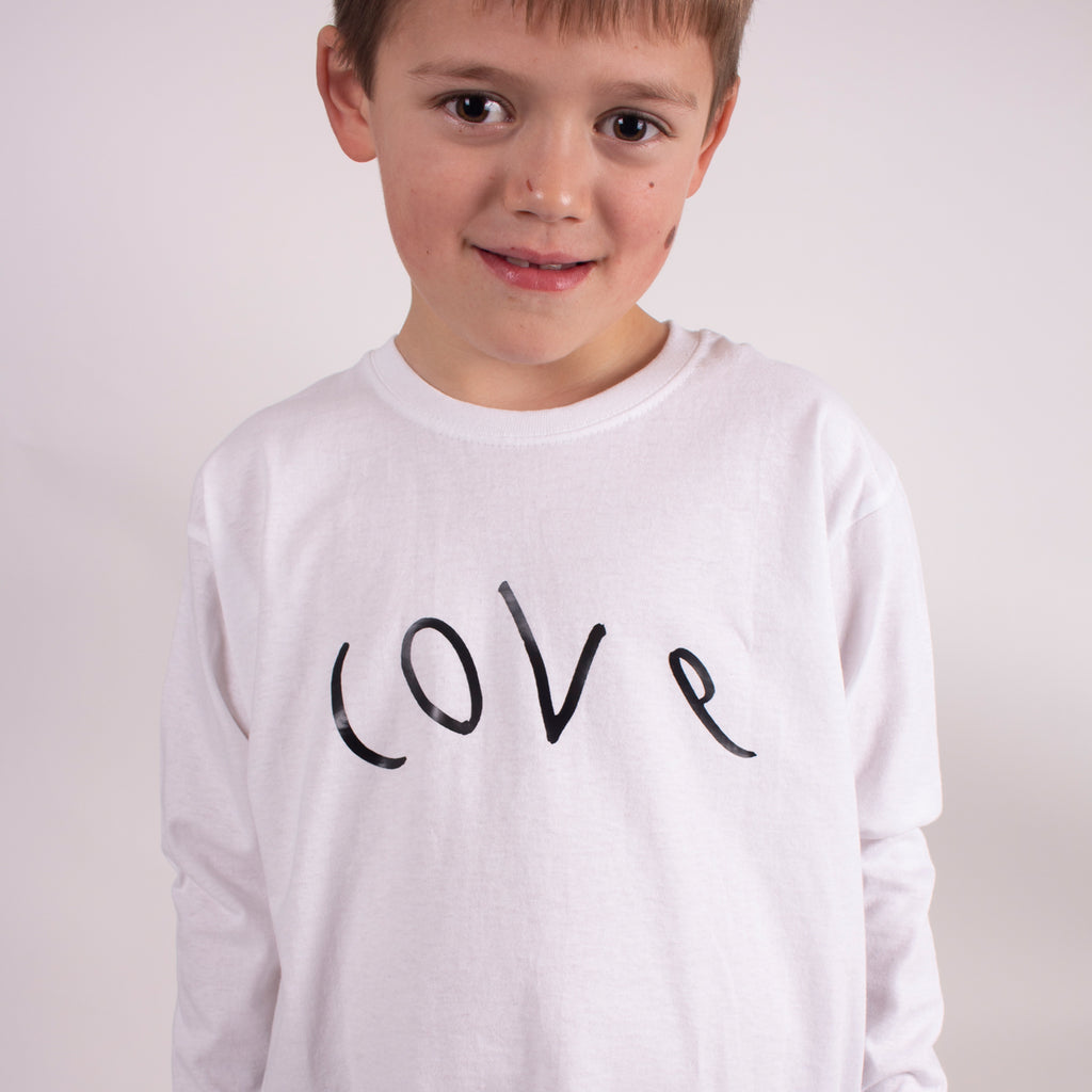 BIG LOVE unisex kids long sleeve tee