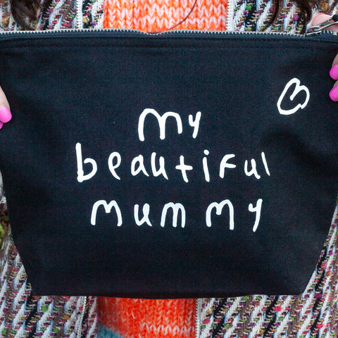 Gifts for mum - personalised with kids drawing