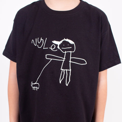 TOTO & FIFI - unisex kids t-shirt personalised with childs drawing