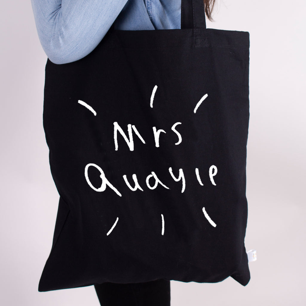 Teachers gift personalised with kids drawing