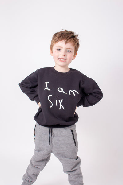 Unisex KIDS sweater personalised with childs drawing