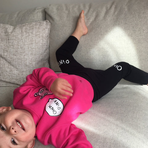 Oink Oink kids leggings
