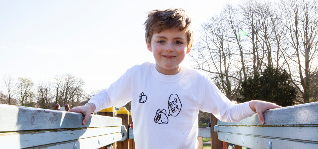 TOTO & FIFI - unisex kids fashion - hand printed - kids drawing