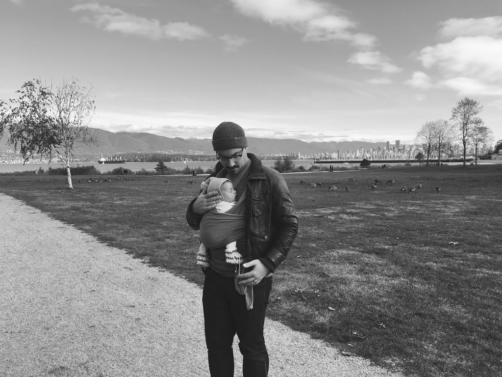 babywearing, a father's perspective