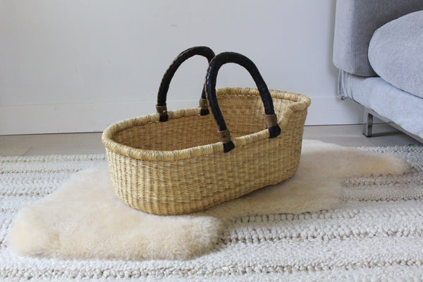 little bassinet - natural