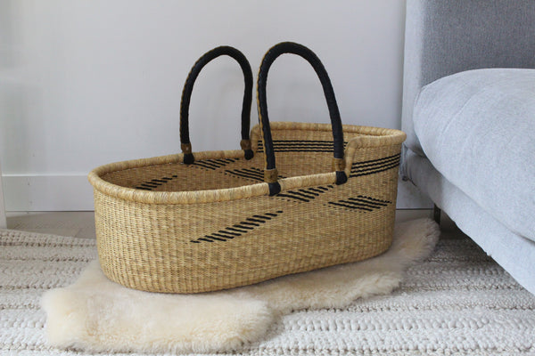 beautiful modern moses basket