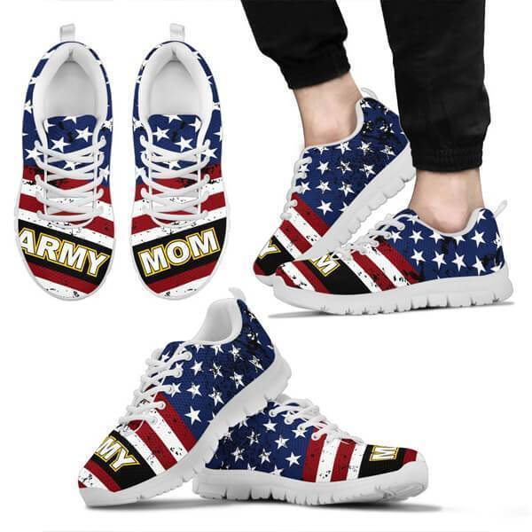 Army Mom Premium Mesh  Sneakers