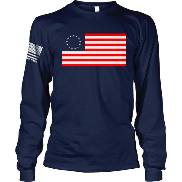 Stand Up For Betsy Ross 1776 T-shirt S-5XL 100/% Cotton Betsy Ross Flag Shirt