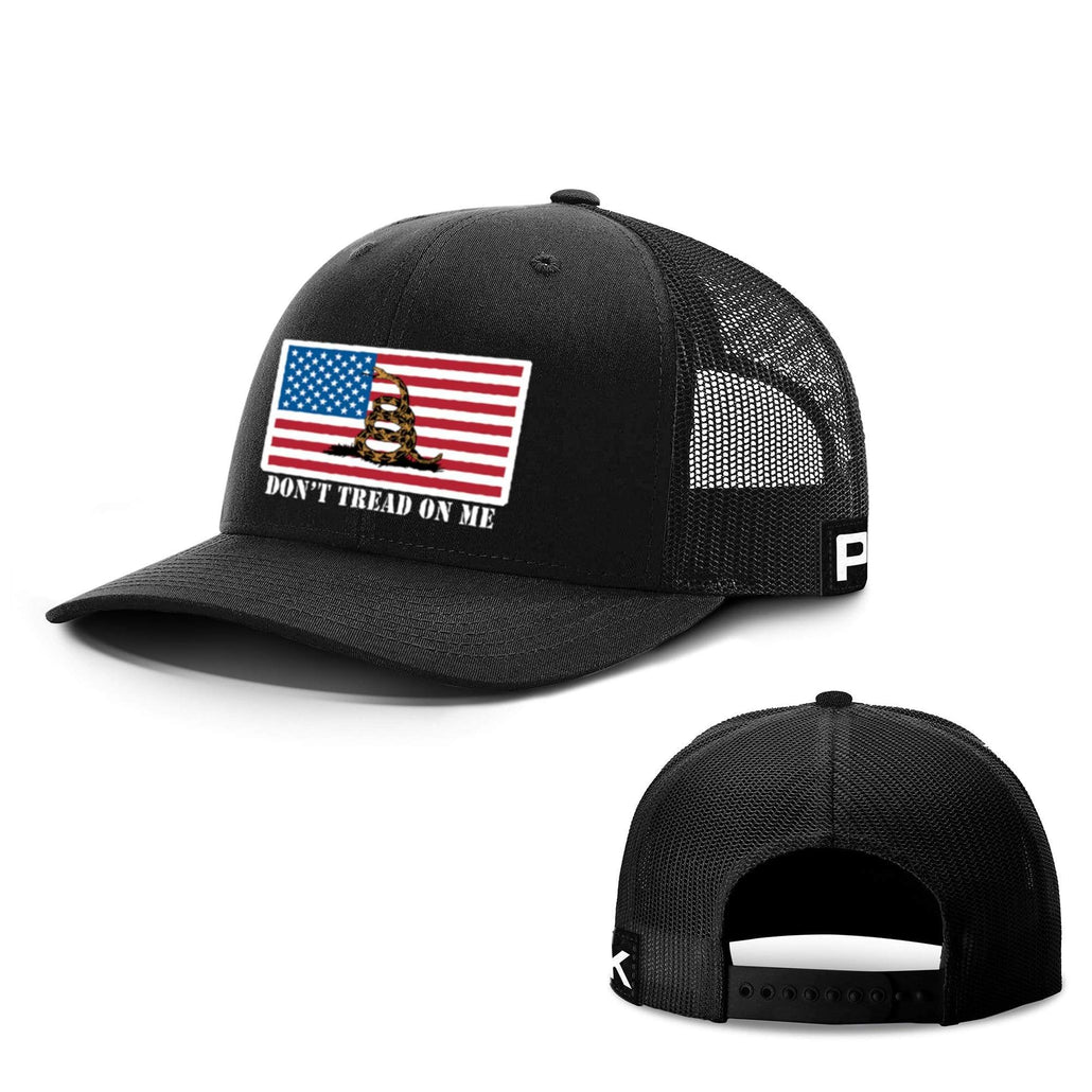 Don't Tread on Me Flag Hats