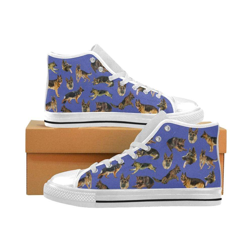 PrintedKicks German Shepherd Canvas High Tops
