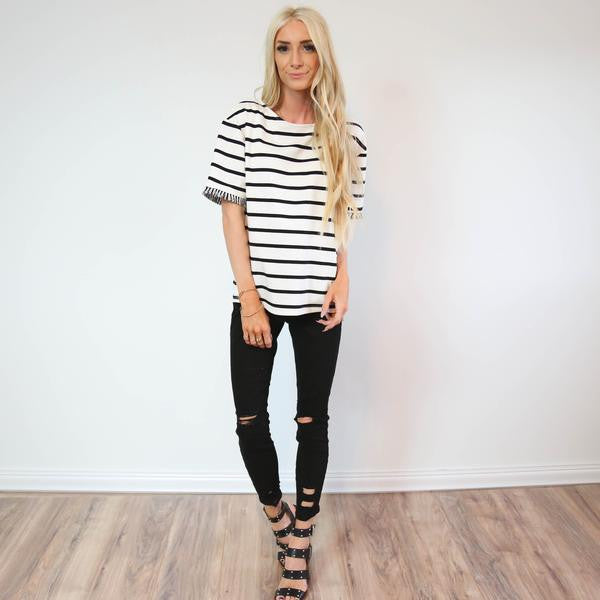 Bailey Fringe Top