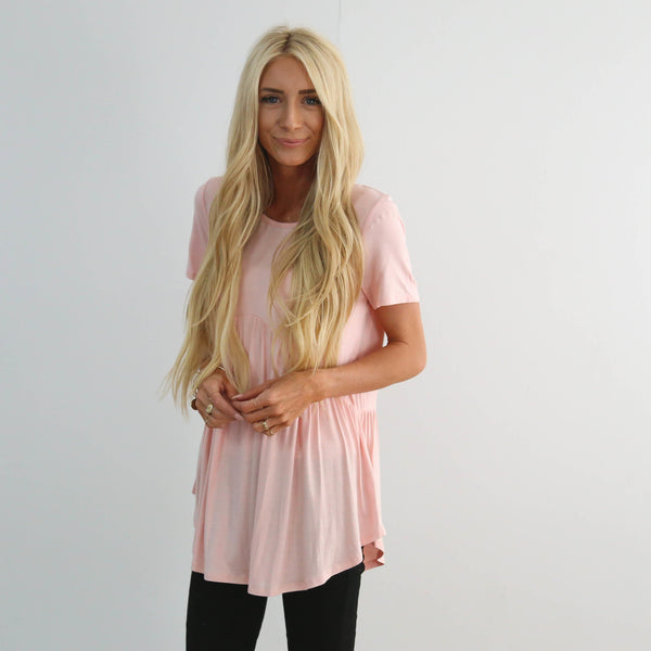 Jade Top in Blush