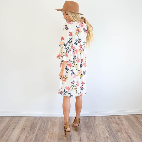 S & Co. Kyla Floral Dress