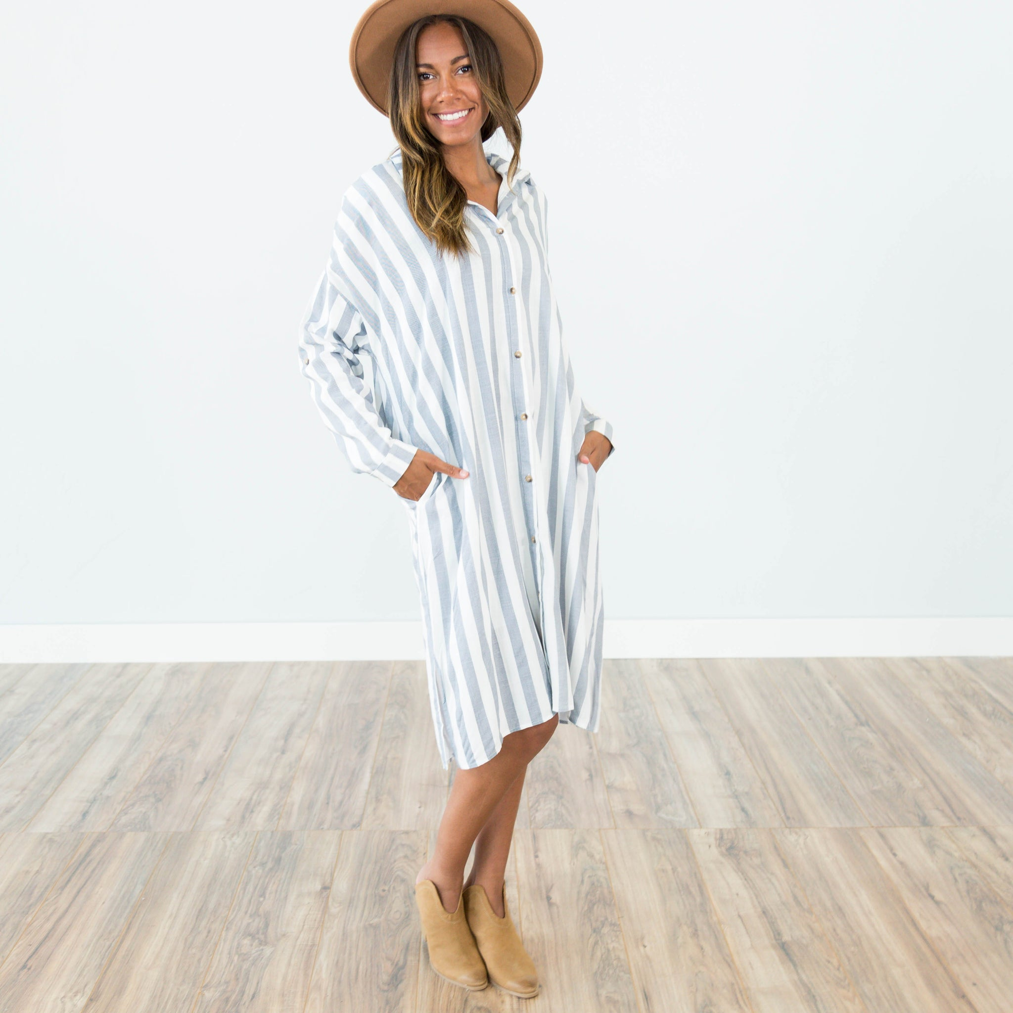 Darcy Stripe Dress