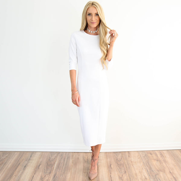 Getaway Ivory Dress