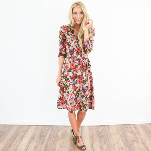 Holly Floral Dress