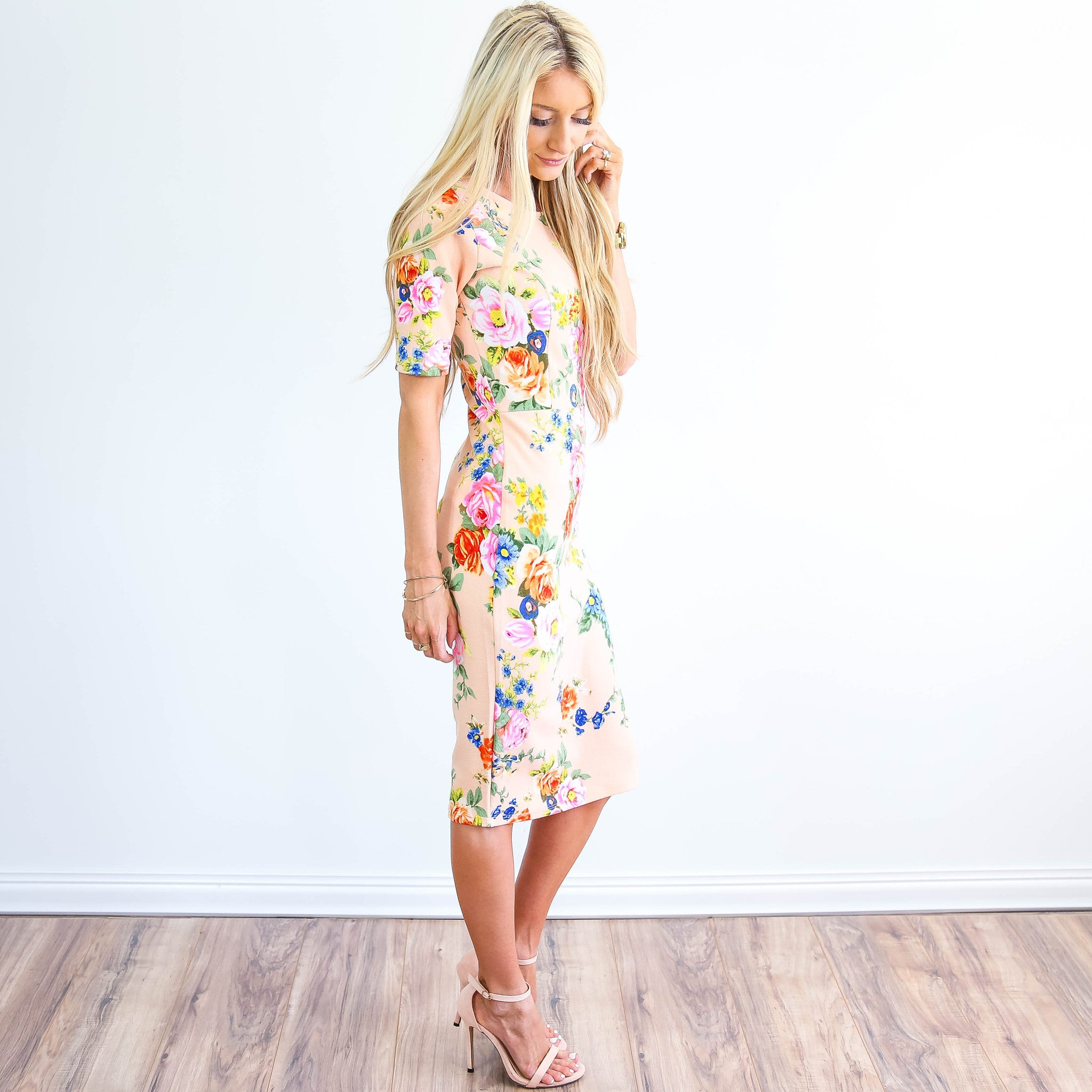 Harper floral dress