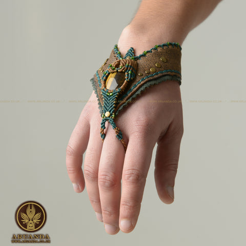 A Dragon's Heart - Hand Bracelet