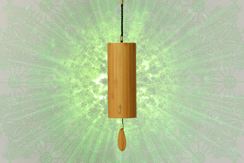 Aruanda UK Koshi Green Terra Earth Wind Chime