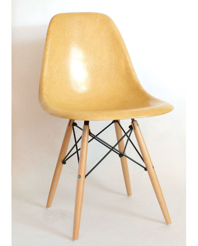 Vintage Eames Shell Chair By Herman Miller e