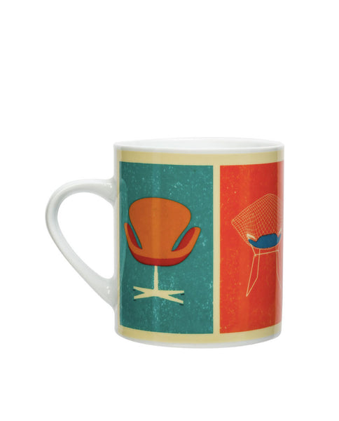 Mid Century Chairs Mug