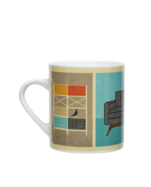 Mid Century Living Room Mug