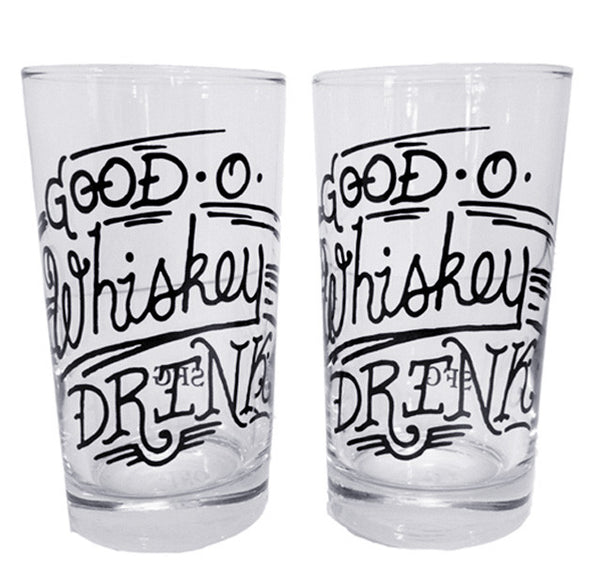 Good O Whiskey Drink Glass Set - Spitfire Girl