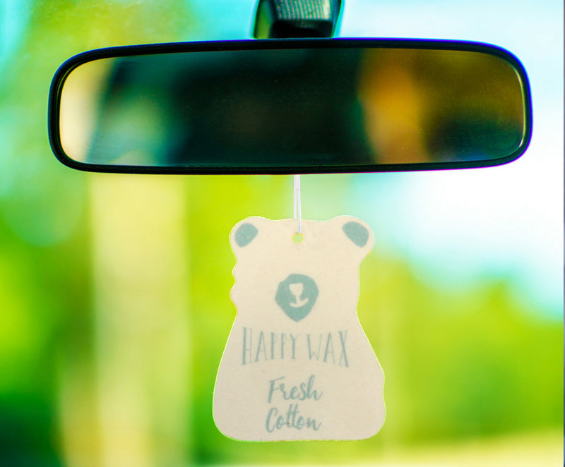 Fresh Cotton Scented Car Freshener - Fun shapes make mixing and melting a breeze!