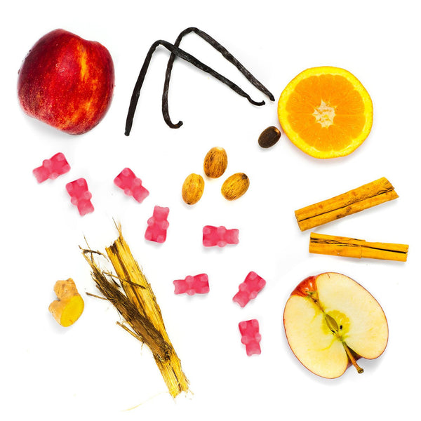 Apple Harvest 2 Oz. Sample Pouch - Fun shapes make mixing and melting a breeze!