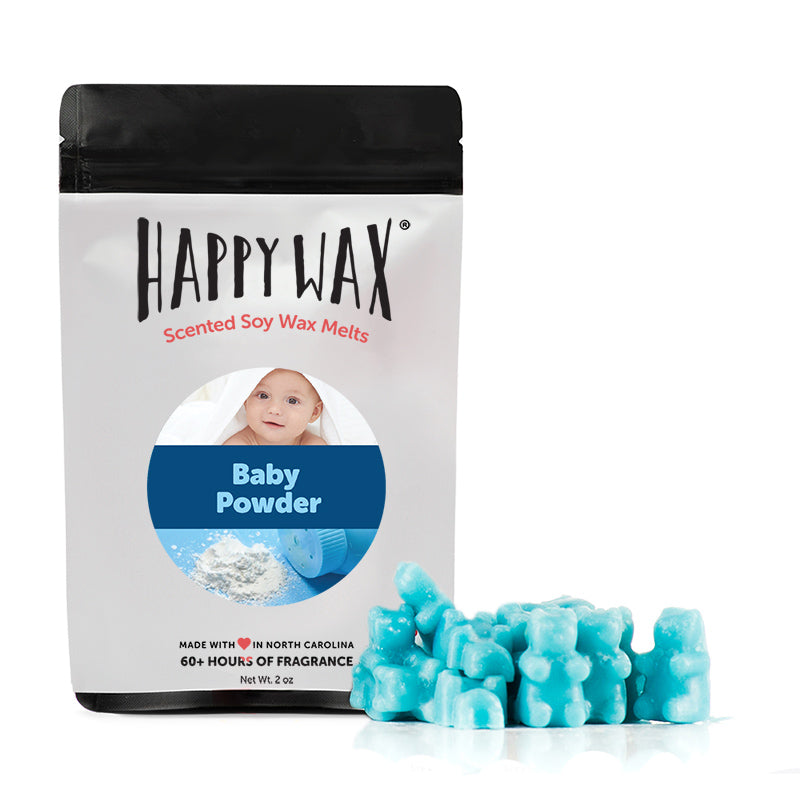 Baby Powder 2 Oz. Sample Pouch - Fun shapes make mixing and melting a breeze!