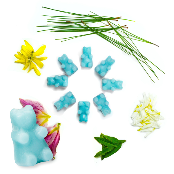 Happy Wax Baby Powder Wax Melts - 8 Oz. Half Pounder Pouch - All Happy Wax scented wax melts are made with 100% all natural soy wax and are infused with essential oils. Perfect for using with your electric wax melt, cube, or tart warmer to deliver flame-free home fragrance!