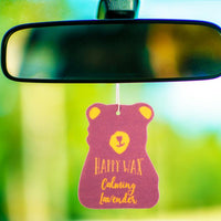 Calming Lavender Scented Car Freshener - Fun shapes make mixing and melting a breeze!