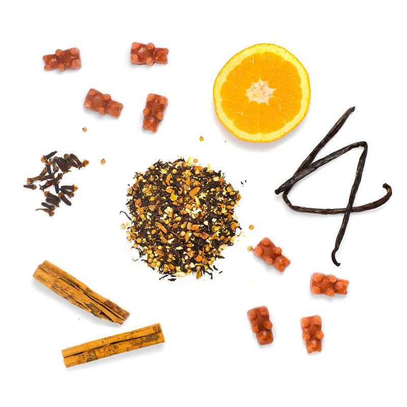 Cinnamon Chai 2 Oz. Sample Pouch - All Happy Wax scented wax melts are made of 100% all natural soy wax.