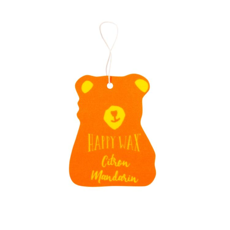 Citron Mandarin Scented Car Freshener - Fun shapes make mixing and melting a breeze!