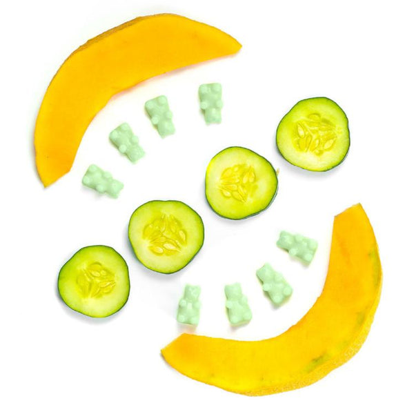 Cucumber Melon Classic Tin Wax Melts - Fun shapes make mixing and melting a breeze!