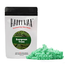 Half Pounder Evergreen Trees Wax Melts