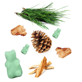 Happy Wax - Evergreen Trees Wax Melts - 8 Oz. Half Pounder Pouch - All Happy Wax scented wax melts are made with all natural soy wax and are infused with essential oils - Use with any electric wax melt, cube or tart warmer for hours of flame-free home fragrance!