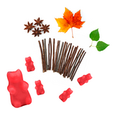 Happy Wax - Fall Woods Scented Wax Melts - 2 Oz. Sample Pouch - All Happy wax scented wax melts are made with 100% all natural soy wax and are infused with essential oils. Perfect for melting in your electric wax melt, cube, or tart warmer for hours of flame-free home fragrance!